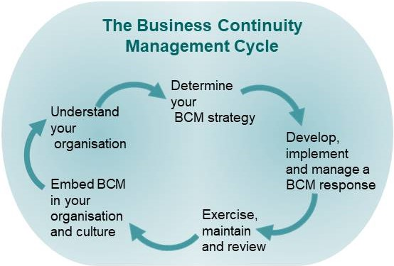 Business Continuity Management cycle